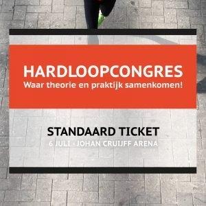 hardloopcongres kaarten standaard