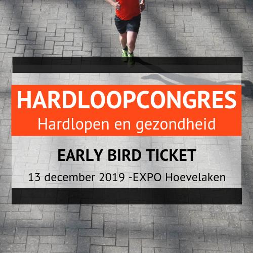 Hardloopcongres early bird ticket